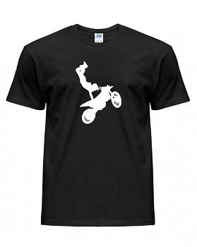 Motorkářské – pánské triko jednostranné
