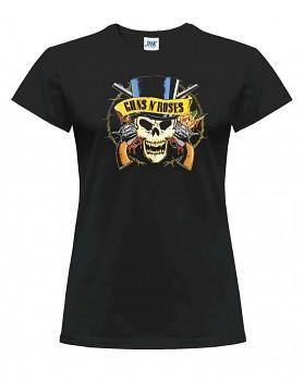 Guns N' Roses – dámské triko jednostranné