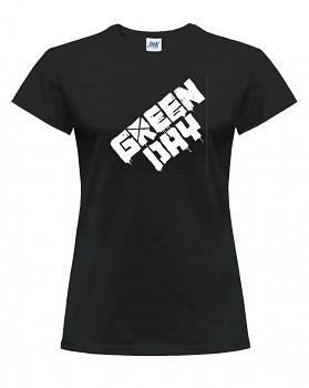 Green Day – dámské triko jednostranné