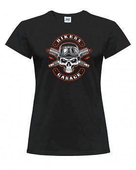 Motorkářské – dámské triko jednostranné