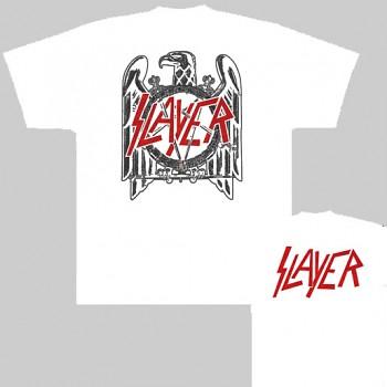 Slayer - triko bílé
