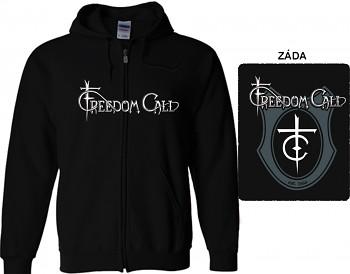Freedom Call - mikina s kapucí a zipem