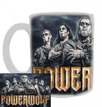 Powerwolf - hrnek bílý - a