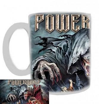 Powerwolf - hrnek bílý - b