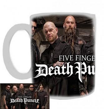 Five Finger Death Punch - hrnek bílý - a