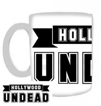 Hollywood Undead - hrnek bílý - b