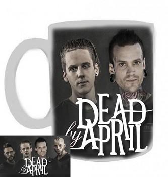 Dead By April - hrnek bílý - a