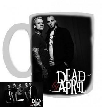 Dead By April - hrnek bílý - b