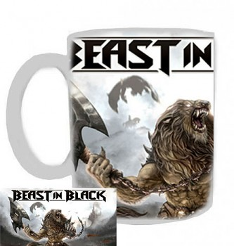 Beast In Black - hrnek bílý - b