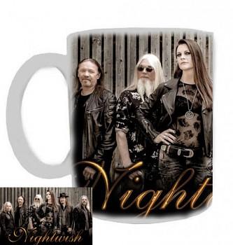 Nightwish - hrnek bílý - b