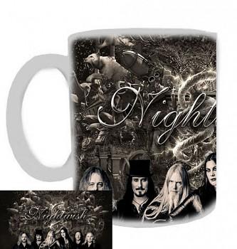 Nightwish - hrnek bílý - d