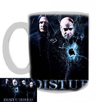 Disturbed - hrnek bílý