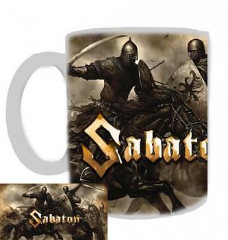 Sabaton - hrnek bílý - a
