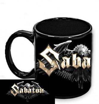 Sabaton - hrnek černý - a