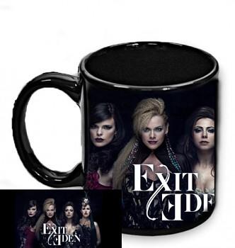 Exit Eden - hrnek černý