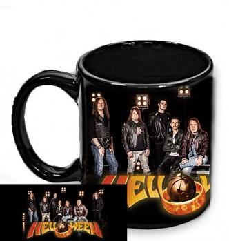 Helloween - hrnek černý - c