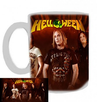 Helloween - hrnek bílý - a