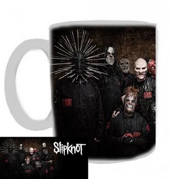 Slipknot - hrnek bílý - a