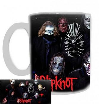 Slipknot - hrnek bílý - b
