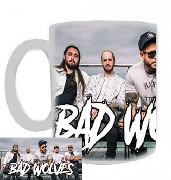 Bad Wolves - hrnek bílý