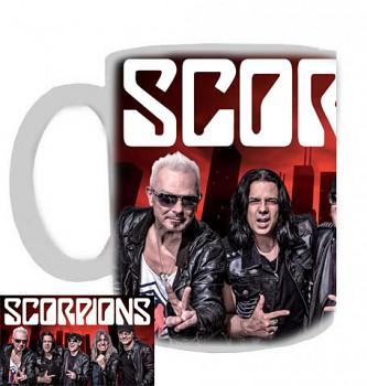 Scorpions - hrnek bílý - a
