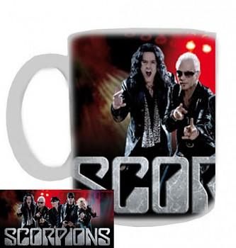 Scorpions - hrnek bílý - b