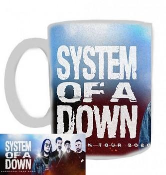 System Of A Down - hrnek bílý