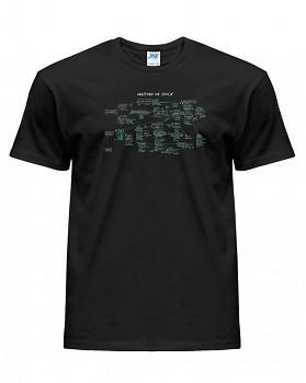 Rockmetalové - pánské triko jednostranné