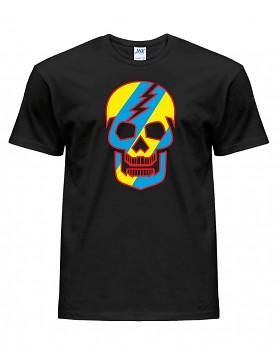 Skull  - pánské triko jednostranné