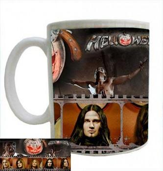 hrníček - Helloween - 7 Sinners Liryes - hrnek b