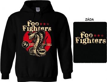 Foo Fighters - mikina s kapucí