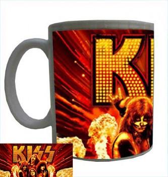 hrníček - Kiss - hrnek 1