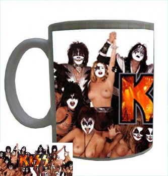 hrníček - Kiss - hrnek 2