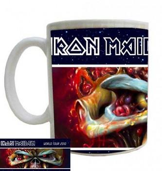 hrníček - Iron Maiden - World Tour 2010 - hrnek