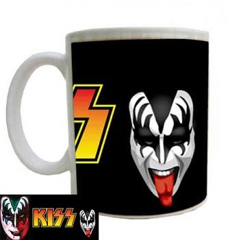 hrníček - Kiss - Gene - hrnek