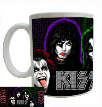 hrníček - Kiss - hrnek 5