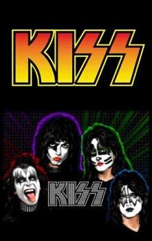 Kiss - nášivka 1