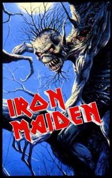 Iron Maiden - Fear Of The Dark - nášivka