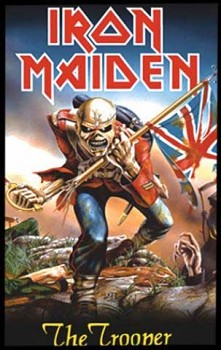 Iron Maiden - The Trooper - nášivka