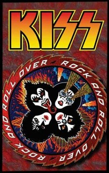 Kiss - Rock And Roll Over - nášivka