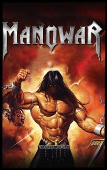 Manowar - The Kingdoom Of Steel - nášivka