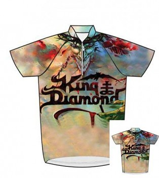 cyklistický dres - cyklodres - King Diamond
