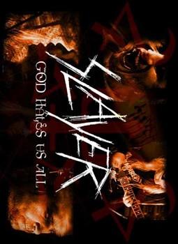 Slayer - nášivka 2
