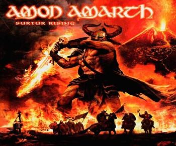 Amon Amarth - podložka pod myš 2