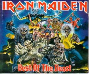 Iron Maiden - podložka pod myš 1