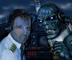 Iron Maiden - podložka pod myš 7