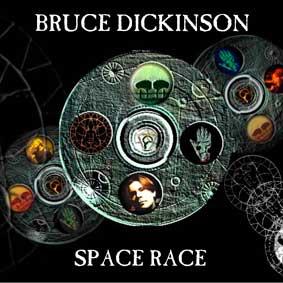 Bruce Dickinson - Space Race - polštář