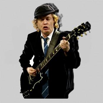 Angus Young - polštář