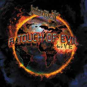 Judas Priest - A touch Of Evil - polštář