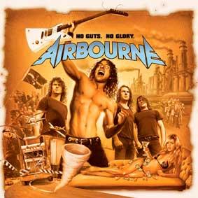 Airbourne - No Guts, No Glory - polštář 2